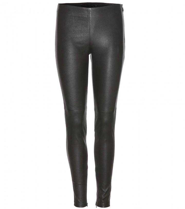 Victoria Beckham Denim Leather leggings