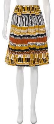 Lafayette 148 Knee-Length Wrap Skirt