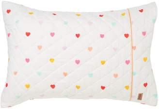 Kip&Co I Heart You Quilted Cotton Pillowcase