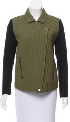 Tibi Two-Tone Casual Jacket