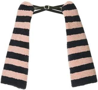 Tu Es Mon Trésor striped arm cover