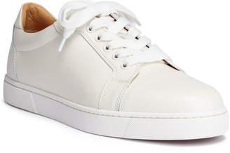 Christian Louboutin Vieira white leather sneakers