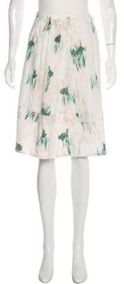 Schumacher Printed Knee-Length Skirt