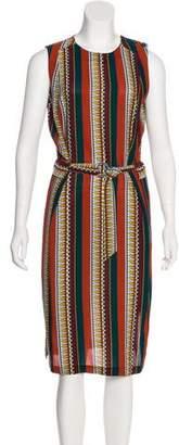 Tory Burch Silk Midi Dress