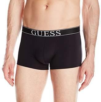 GUESS Men's Microfiber Boxer Trunks