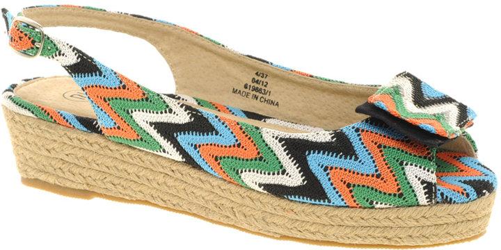 River Island Crochet Flatform Sandals