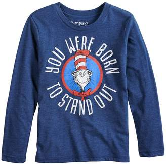 "Dr. Seuss Boys 4-12 Jumping Beans The Cat in the Hat"" Graphic Tee"