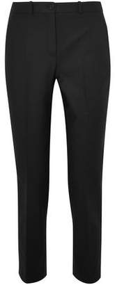 Michael Kors Samantha Cropped Cotton-Blend Straight-Leg Pants