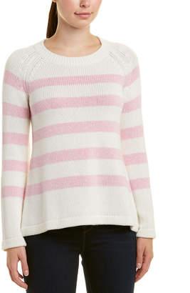 Hannah Rose Cashmere-Blend Sweater