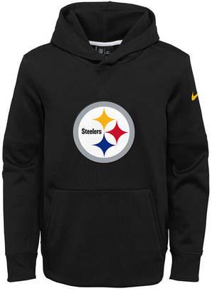 Nike Pittsburgh Steelers Circuit Logo Hoodie, Big Boys (8-20)