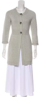 Theory Wool-Blend Knit Cardigan