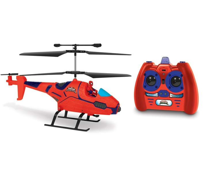 World Tech Toys 3.5ch Spider-Man with Figure Marvel IR Helicopter