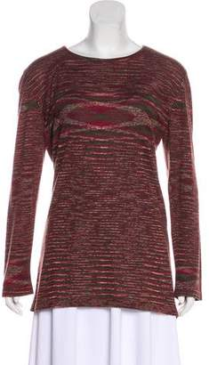 Missoni Long Sleeve Knit Top