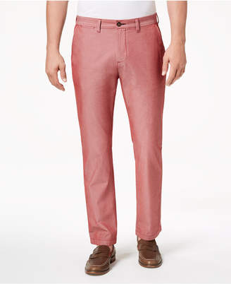 Tommy Hilfiger Men's Custom-Fit Chambray Chinos
