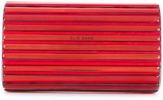 Elie Saab metallic clutch bag