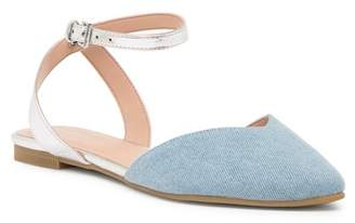 BCBGeneration Mae Chambray Flat
