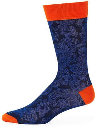 Etro Calza Corta Cotton Socks