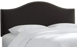 Willa Arlo Interiors Doleman Nail Button Upholstered Panel Headboard