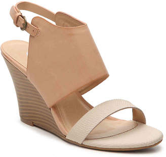 Women's Baja Wedge Sandal -Taupe/Blush $55 thestylecure.com