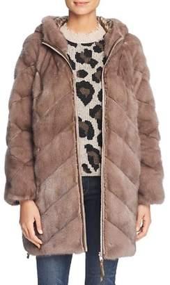 Maximilian Furs Reversible Mink Fur Down Coat - 100% Exclusive