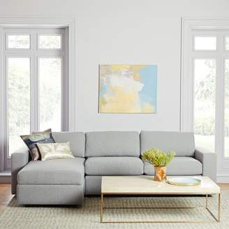 west elm Urban 2-Piece Chaise Sectional - Large