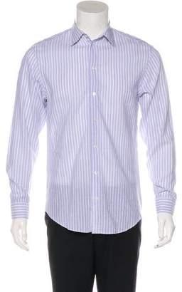 Armani Collezioni Linen-Blend Shirt