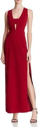 AQUA Band Detail Cutout Gown - 100% Exclusive $168 thestylecure.com