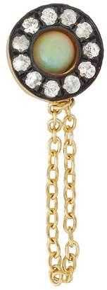 Ileana Makri EYE M by Opal Sun Chained Single Stud Earring