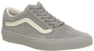 Vans Old Skool Trainers Flint Grey Eggnog