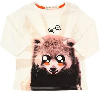 Billybandit Animal Print Cotton Jersey T-Shirt