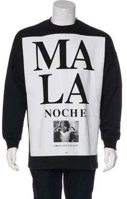 Etudes Studio Mala Noche Print Crew Neck Sweatshirt