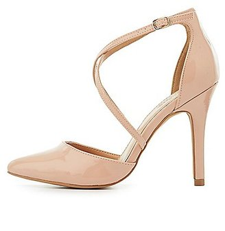 Three-Piece Pointed Toe Pumps $35.99 thestylecure.com