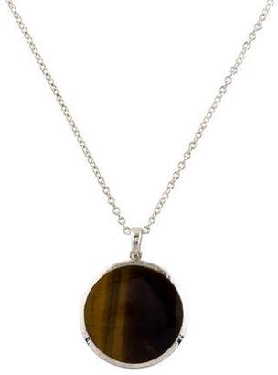 Ippolita Tiger's Eye Polished Rock Candy Pendant Necklace