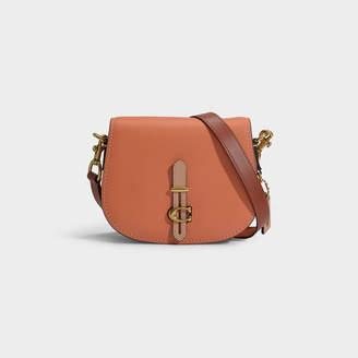 0c8855ca1 Coach Saddle 24 Bag In Pink Calfskin