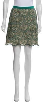 Sacai Luck Lace Mini Skirt