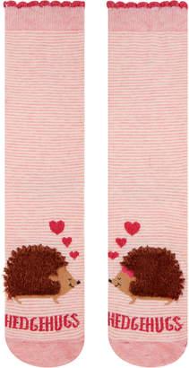 Accessorize Hedgehugs in Love Fluffy Socks