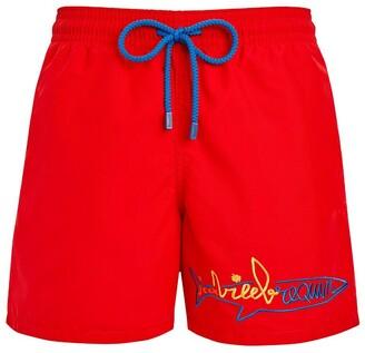 Vilebrequin x jean charles de castelbajac swim shorts