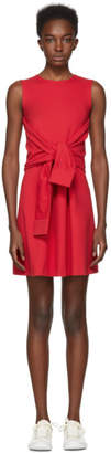 DSQUARED2 Red Compact Jersey Dress