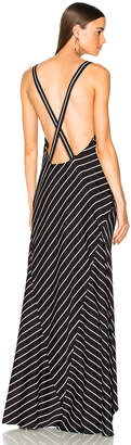 Haider Ackermann Striped Camisole Dress