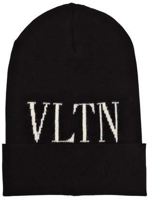Valentino Knit Beanie Hat
