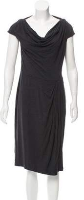 Magaschoni Draped Midi Dress