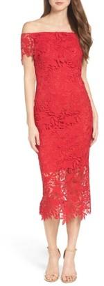 Women's Shoshanna Madison Off The Shoulder Dress $550 thestylecure.com