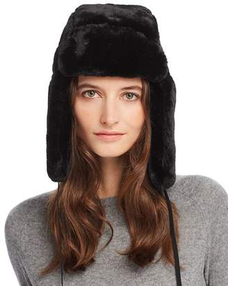 be3aadbc4 Black Faux Fur Hat Womens - ShopStyle