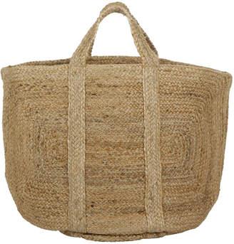 Nkuku Braided Hemp Basket - Natural - Large