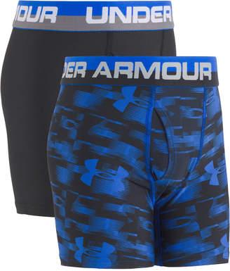 Under Armour 2-Pk. Boxer Briefs, Big Boys