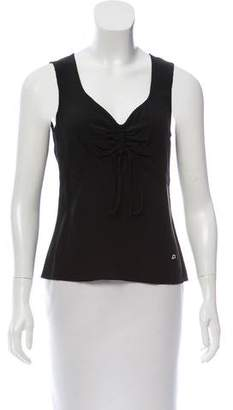 Salvatore Ferragamo Sleeveless Silk Top