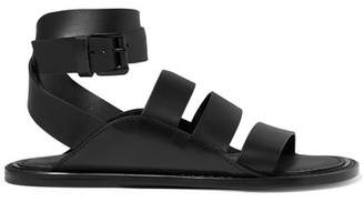 Ann Demeulemeester Leather Sandals - Black