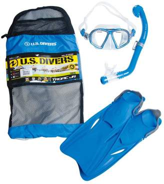 Us Divers US Divers Tropic Junior Snorkel and Fin Set