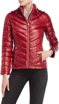 Calvin Klein Petite Packable Down Jacket