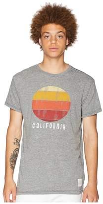 Original Retro Brand The California Vintage Tri-Blend Tee Men's T Shirt